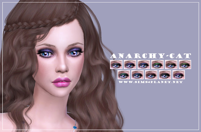 Eyeshadow #3 at Anarchy Cat image 1283 Sims 4 Updates