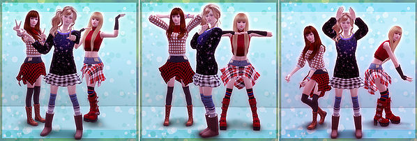 Sims 4 Combination pose 12 (Koi Dance) at A luckyday