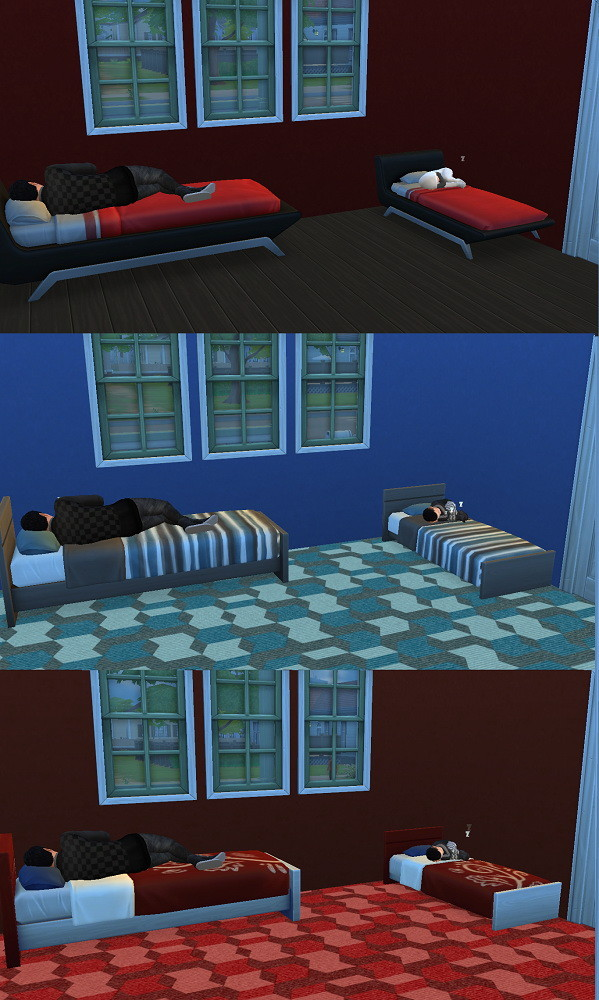 Toddler beds by G1G2 at SimsWorkshop image 1304 599x1000 Sims 4 Updates