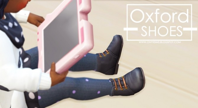 Oxfords for Toddlers at Onyx Sims image 1305 670x366 Sims 4 Updates