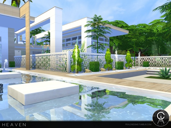 Heaven house by Pralinesims at TSR image 1310 Sims 4 Updates