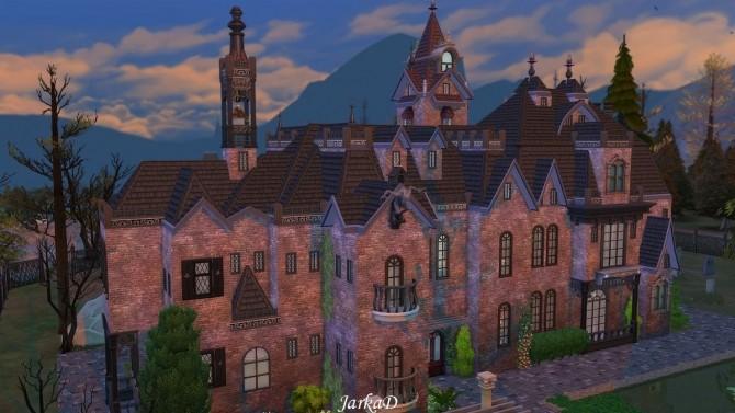 Vampire Mansion At Jarkad Sims 4 Blog 187 Sims 4 Updates