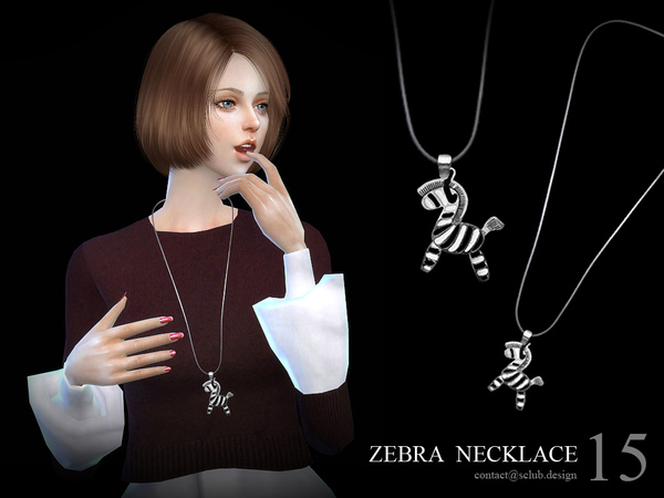 Necklace N15 by S Club LL at TSR image 1316 Sims 4 Updates