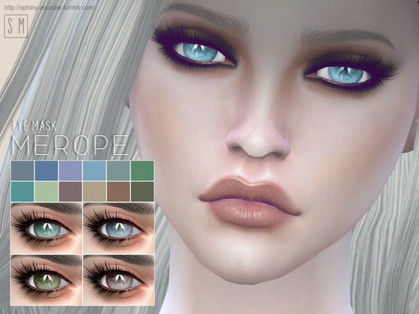 Merope Eye Mask by Screaming Mustard at TSR image 1317 Sims 4 Updates