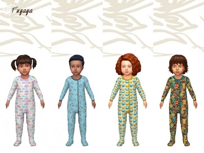 Pyjama Monotex by Fuyaya at Sims Artists image 1325 670x503 Sims 4 Updates