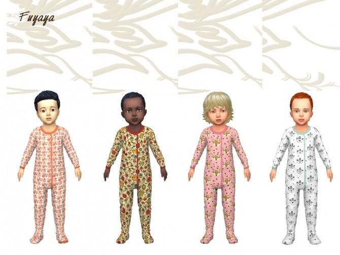 Pyjama Monotex by Fuyaya at Sims Artists image 1344 670x503 Sims 4 Updates