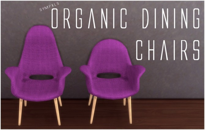 Organic Dining Chairs by Sympxls at SimsWorkshop image 1352 670x427 Sims 4 Updates
