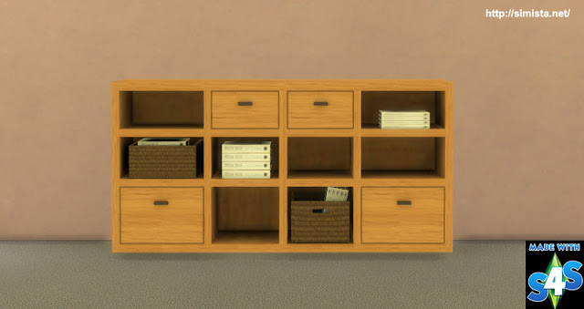 Credenza Buffet at Simista image 1356 Sims 4 Updates