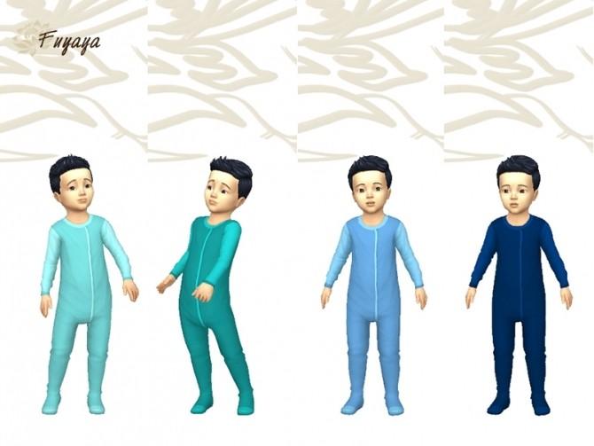 Pyjama Monobi by Fuyaya at Sims Artists image 1364 670x503 Sims 4 Updates