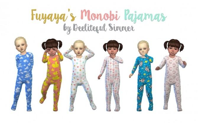 Fuyayas Monobi pajamas at Deeliteful Simmer image 1365 670x415 Sims 4 Updates