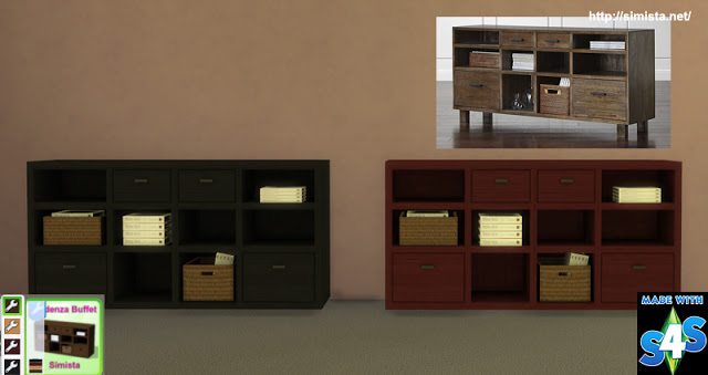 Credenza Buffet at Simista image 1366 Sims 4 Updates
