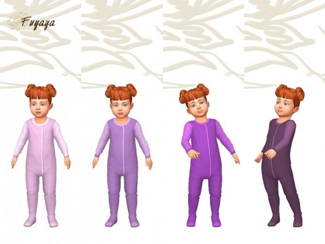 Pyjama Monobi by Fuyaya at Sims Artists image 1374 670x503 Sims 4 Updates