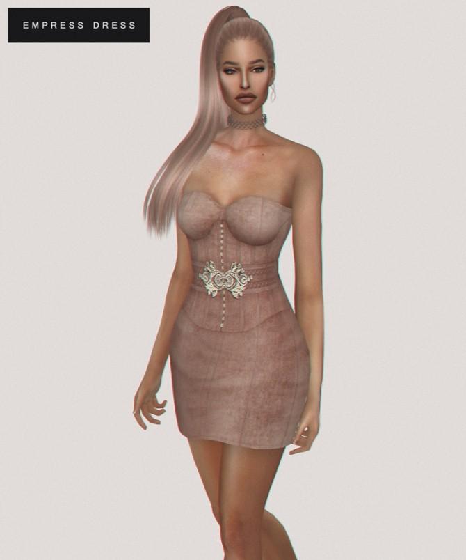 Empress Dress at Fashion Royalty Sims image 1378 670x804 Sims 4 Updates