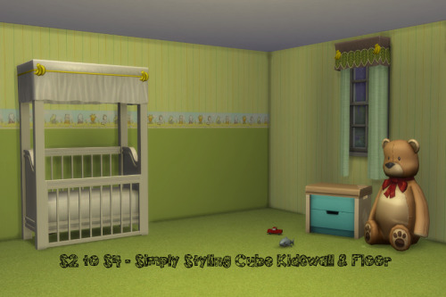 S2 to S4 Simply Styling Cube Walls & Floors at ChiLLis Sims image 1392 Sims 4 Updates