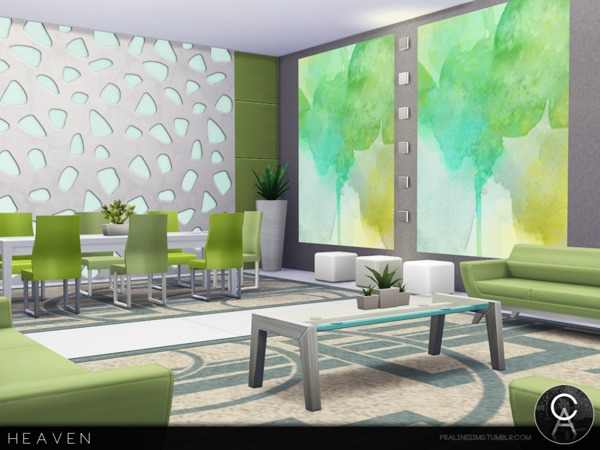 Heaven house by Pralinesims at TSR image 1410 Sims 4 Updates