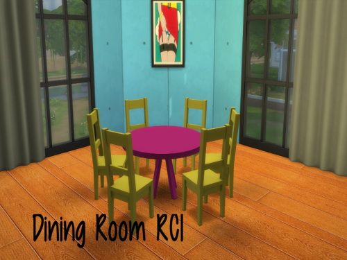 Dining Room RC1 at ChiLLis Sims image 1432 Sims 4 Updates