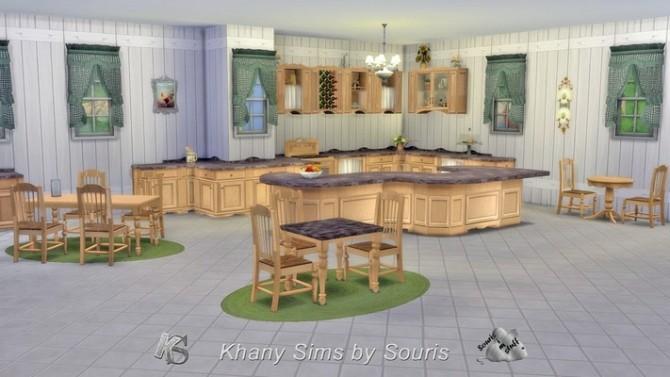 Sims 4 Seasons kitchen by Souris at Khany Sims