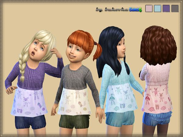 Sims 4 Suit Denim Shorts by bukovka at TSR