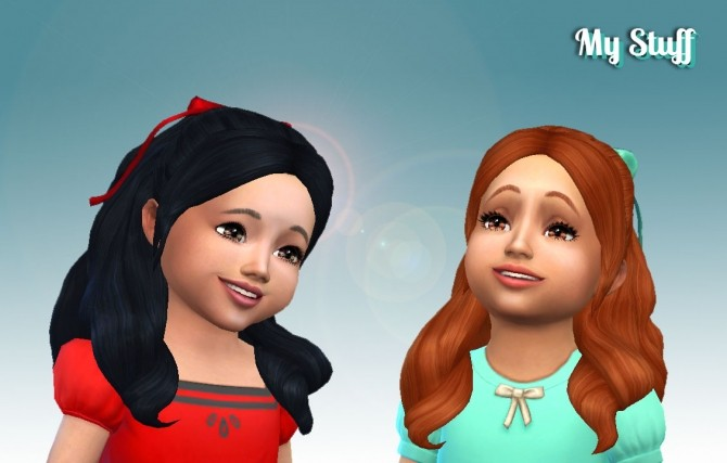 Sweet Curls for Toddlers at My Stuff image 1445 670x427 Sims 4 Updates