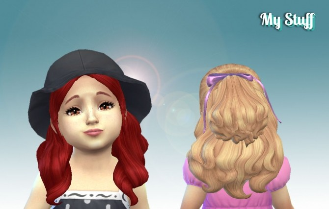 Sweet Curls for Toddlers at My Stuff image 1454 670x427 Sims 4 Updates