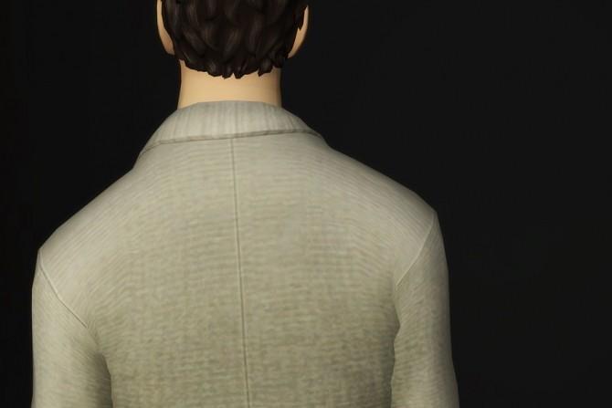 Sims 4 Basic wool cardigan with shirt at Rusty Nail