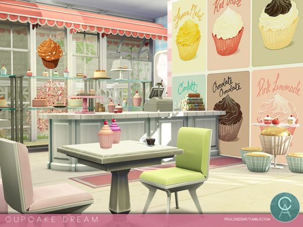 rinna haircuts cupcake house by pralinesims at tsr 187 sims 4 updates 1470