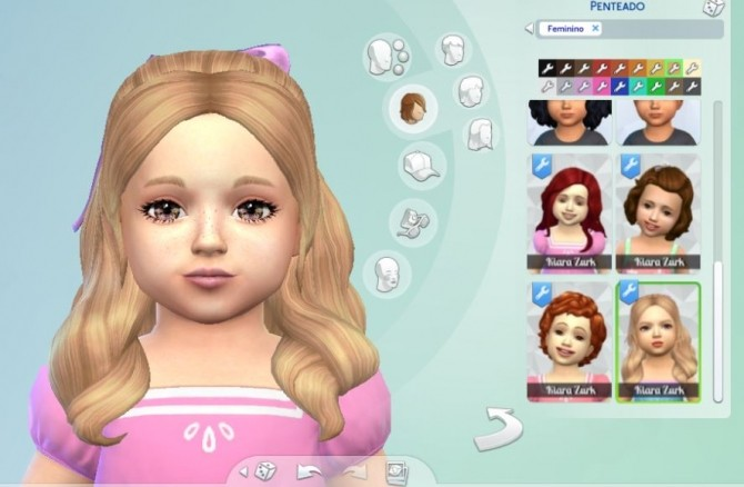 Sweet Curls for Toddlers at My Stuff image 1474 670x438 Sims 4 Updates
