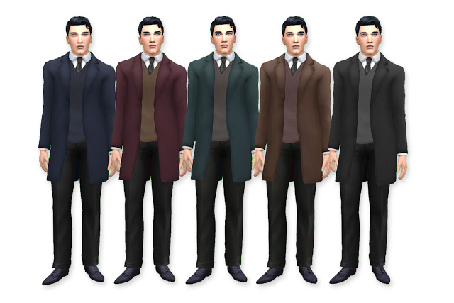 Sims 4 Proffesor Suit at Historical Sims Life