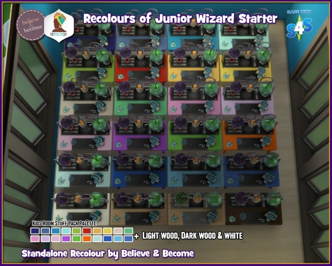 B & B Recoloured Wizard Table at The African Sim image 15113 670x536 Sims 4 Updates