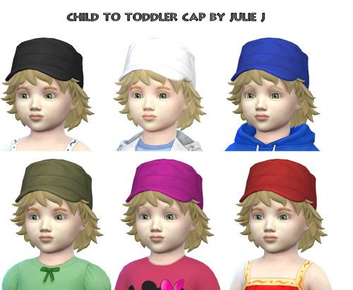 Child to Toddler Cap at Julietoon – Julie J image 15115 Sims 4 Updates