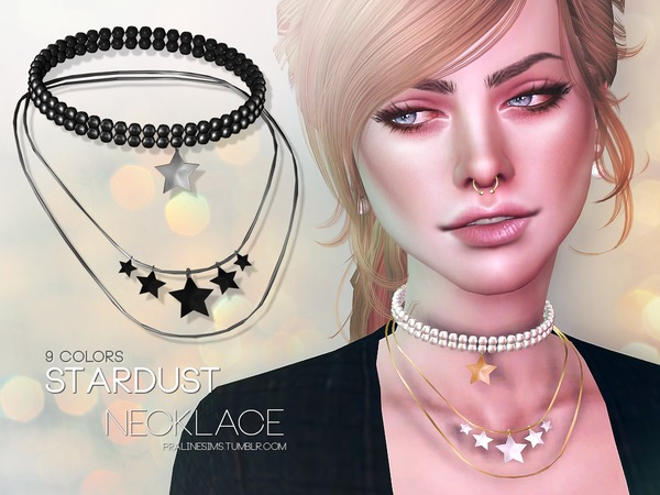 Stardust Necklace by Pralinesims at TSR image 1515 Sims 4 Updates