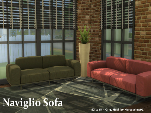S3 to S4 Naviglio Sofa at ChiLLis Sims image 1521 Sims 4 Updates