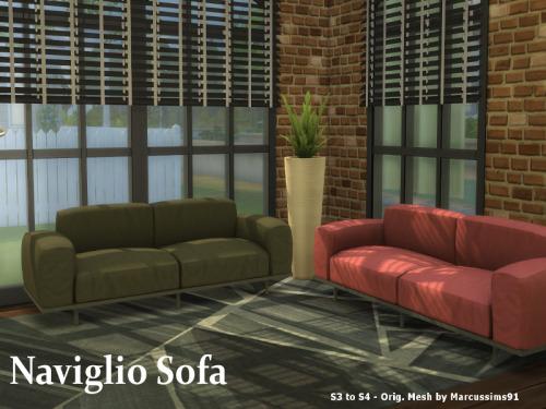 S3 to S4 Naviglio Sofa at ChiLLis Sims image 1521 Sims 4 Updates