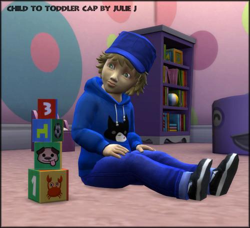 Child to Toddler Cap at Julietoon – Julie J image 15211 Sims 4 Updates