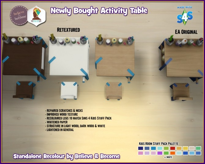 B & B Newly Bought Activity Table at The African Sim image 1528 670x536 Sims 4 Updates