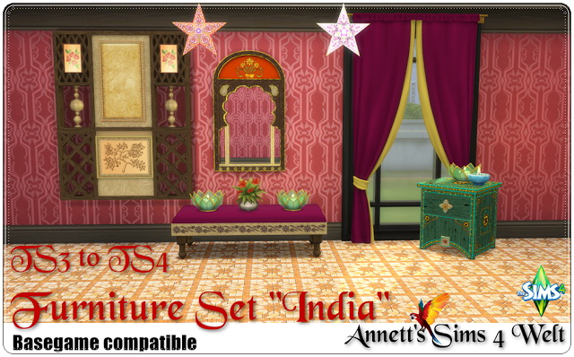 India set TS3 to TS4 Conversion at Annett's Sims 4 Welt image 154 Sims 4 Updates