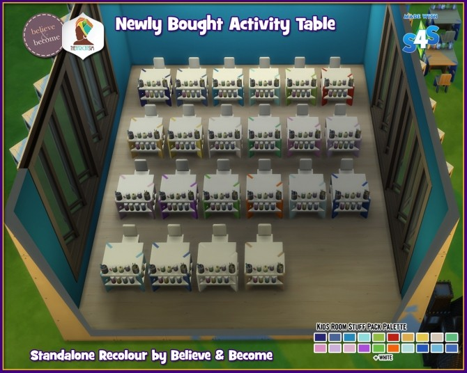 B & B Newly Bought Activity Table at The African Sim image 1546 670x536 Sims 4 Updates