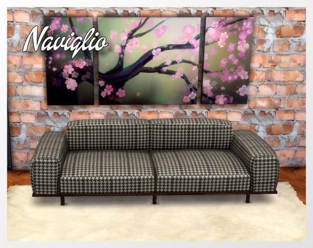 Naviglio Sofa by Oldbox at All 4 Sims image 1553 Sims 4 Updates