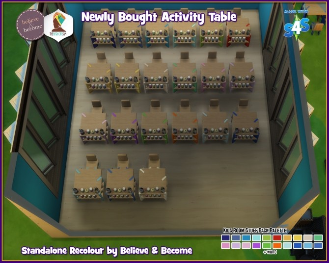 B & B Newly Bought Activity Table at The African Sim image 1556 670x536 Sims 4 Updates