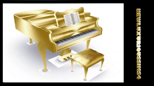 MUSIC BY ROYALTY piano at NEW Luxurious Sims 4 image 1561 Sims 4 Updates