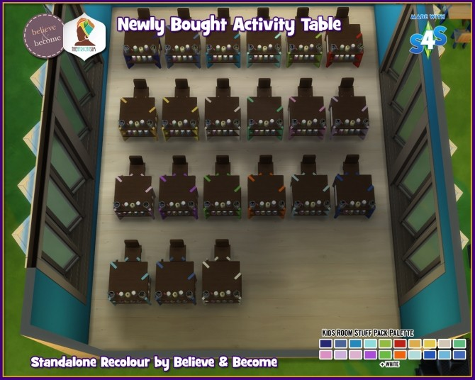 B & B Newly Bought Activity Table at The African Sim image 1566 670x536 Sims 4 Updates