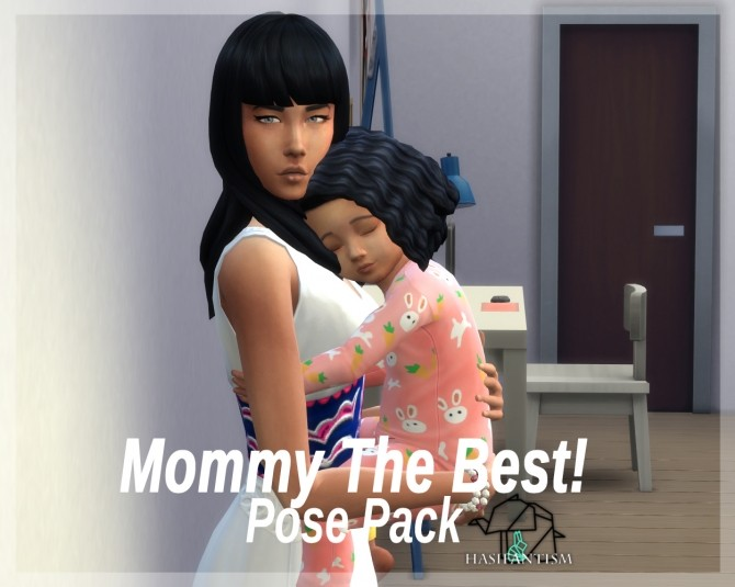 Mommy The Best pose pack at HASIFANTISM image 1573 670x535 Sims 4 Updates