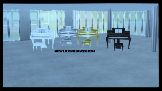 MUSIC BY ROYALTY piano at NEW Luxurious Sims 4 image 1581 Sims 4 Updates