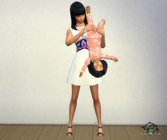 Mommy The Best pose pack at HASIFANTISM image 1583 670x560 Sims 4 Updates