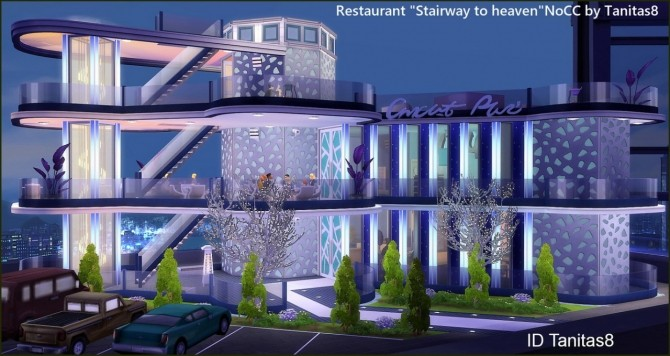 Stairway to heaven restaurant at Tanitas8 Sims image 1591 670x356 Sims 4 Updates