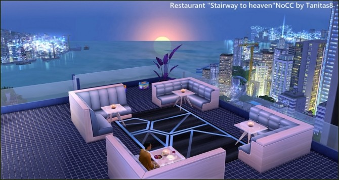 Stairway to heaven restaurant at Tanitas8 Sims image 1601 670x356 Sims 4 Updates