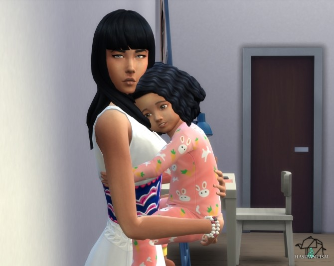 Mommy The Best pose pack at HASIFANTISM image 1603 670x535 Sims 4 Updates