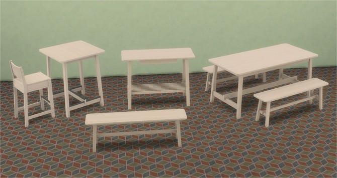 Sims 4 IKEA Inspired NORRAKER Add ons at Veranka