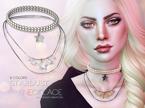 Stardust Necklace by Pralinesims at TSR image 1615 Sims 4 Updates