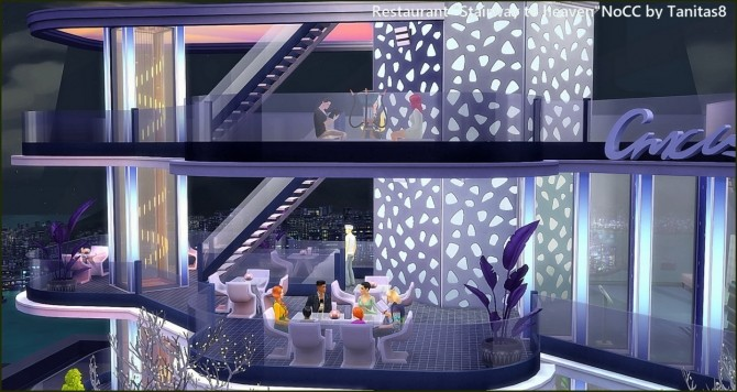 Stairway to heaven restaurant at Tanitas8 Sims image 1621 670x356 Sims 4 Updates